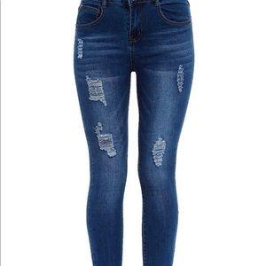 Denim - NWT Distressed Stretch Jeans